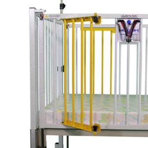 Crib Dual Access Gate
