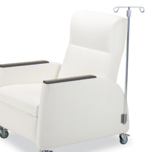IV Pole Holder for iSeries Recliners
