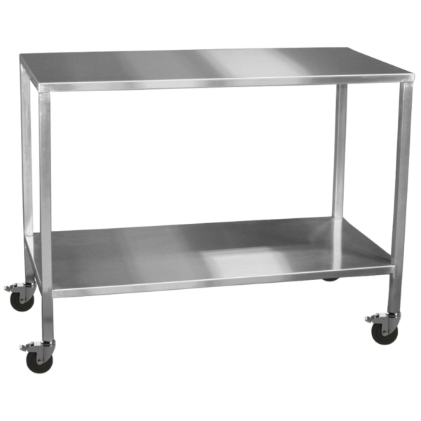Stainless Steel Hospital Instrument Tables