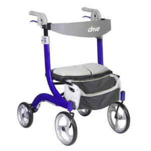 Nitro DLX Rollator - 4 Wheel Walker