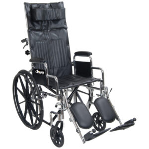 Chrome Sport Full-Reclining Wheelchair
