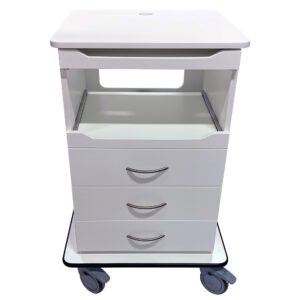 AntiMicrobial Fetal Monitor Cart