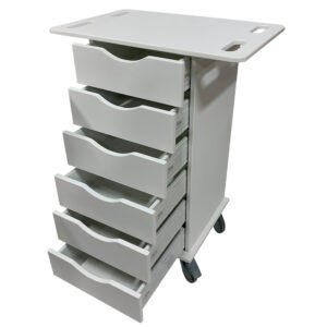 Antimicrobial Supply Cart